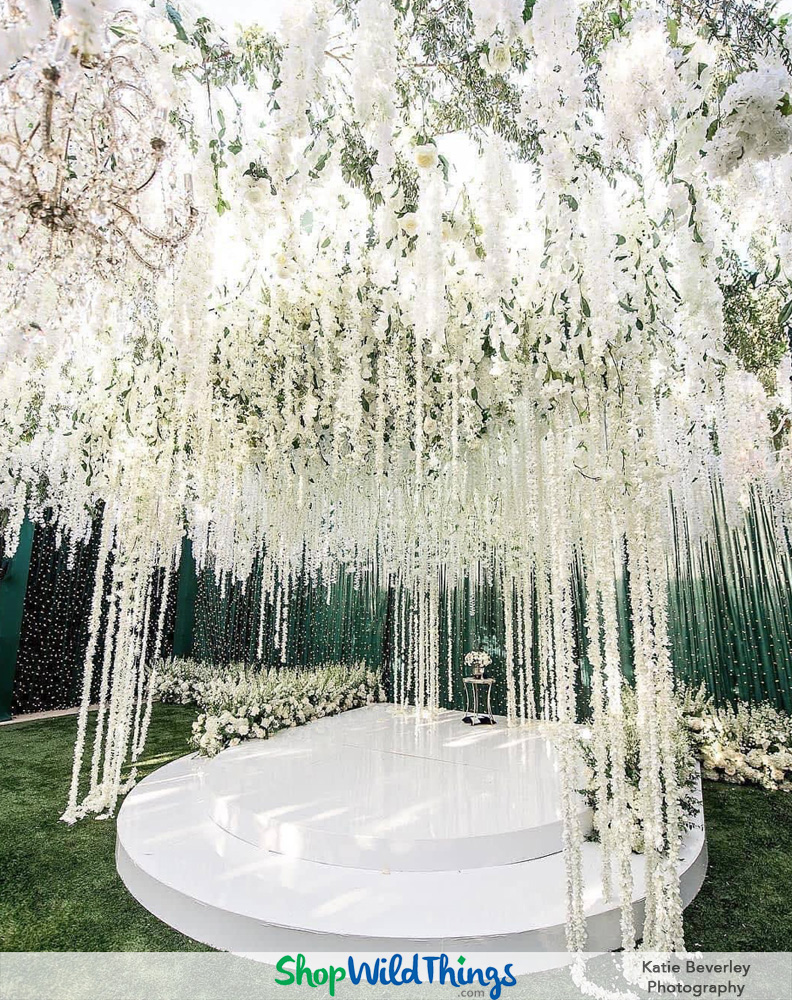 Floral Canopy - Customize Your Event Venue Using Faux Florals