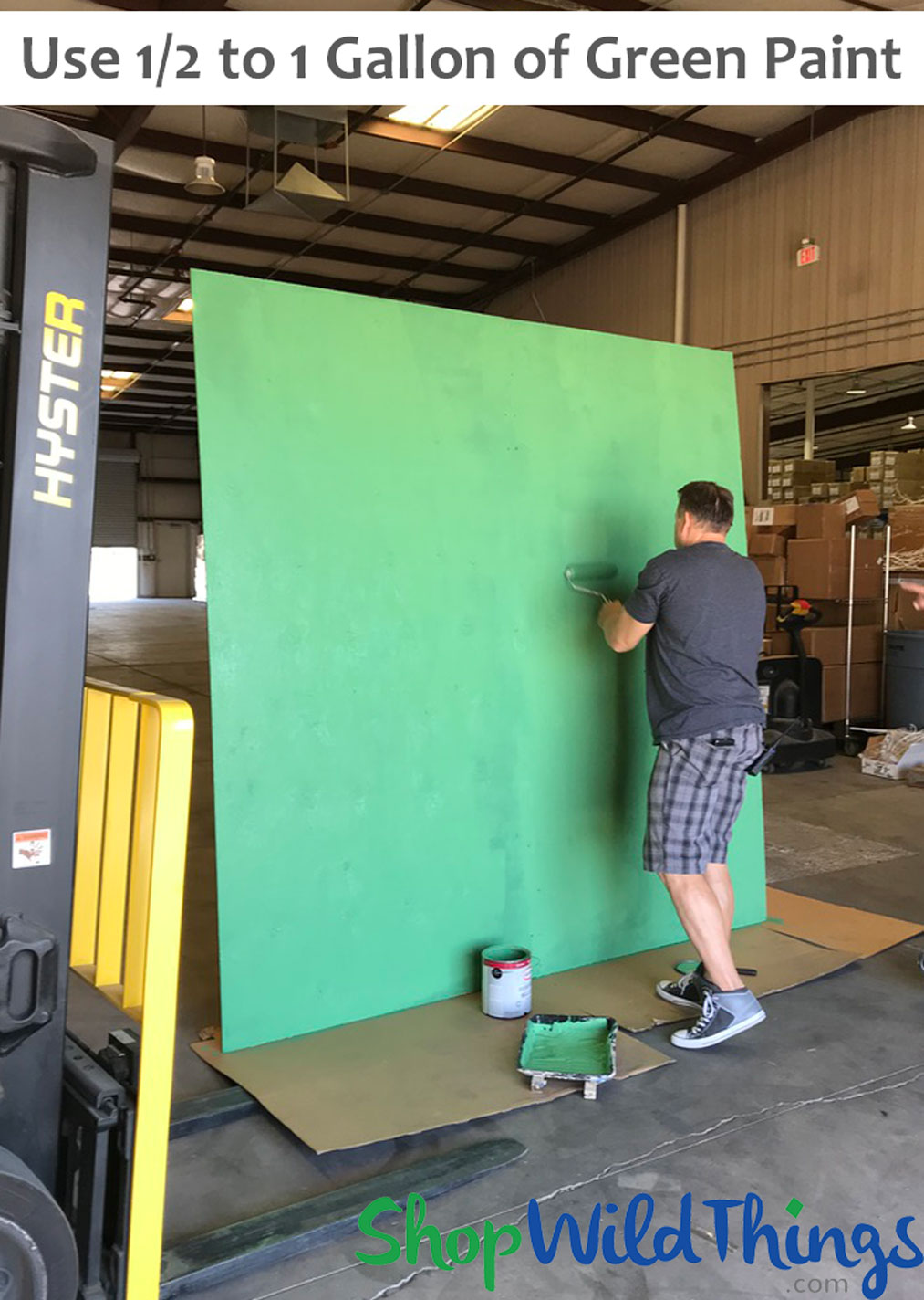 Free Flower Wall Backdrop Stand Instructions & Video