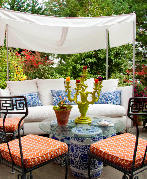 How to Add Space for Seating, Sipping, and Sunning for less than $100