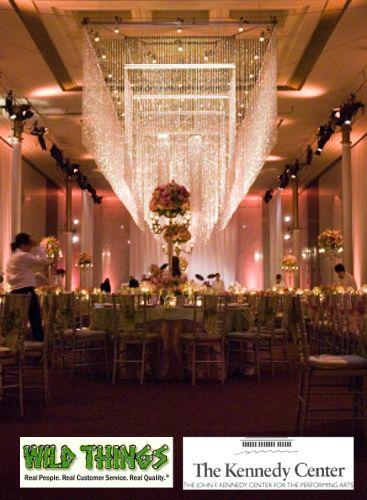 John F. Kennedy Center  - Washington D.C. (Emeralds Curtains and Amelia Chandeliers)