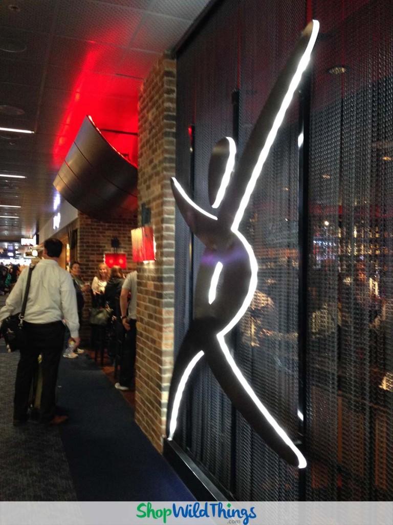 Las Vegas, Part Deux:  Curtains - Metal, String & Beaded