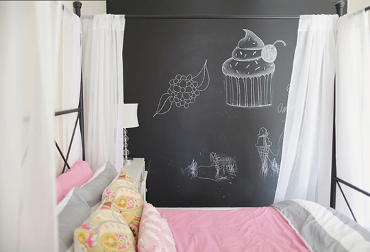 Mission Possible:  A Chic Big Girl Room on Modest Budget