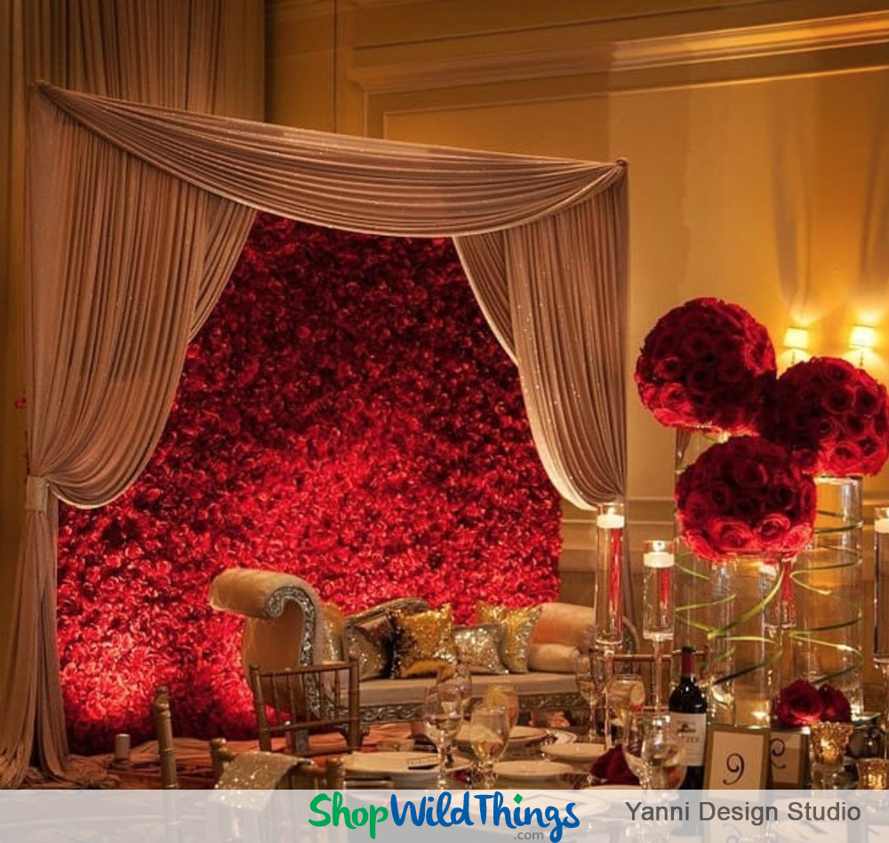 Budget Conscious Hacks for BIG Backdrops that Bring the Wow!