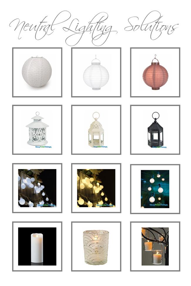 Neutral Lighting Ideas Add Ambience, Elegance