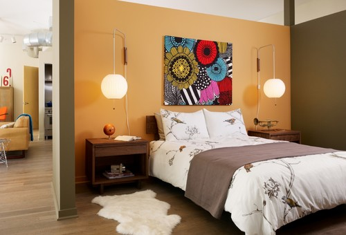Our Favorite Things ~ Jigsaw Lamps Add 70s Style + Modern Flexibility