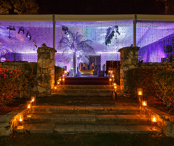 Outdoor Lighting|The Key to Dramatic Receptions