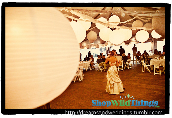 Paper Lanterns - Create An AMAZING Space For Less