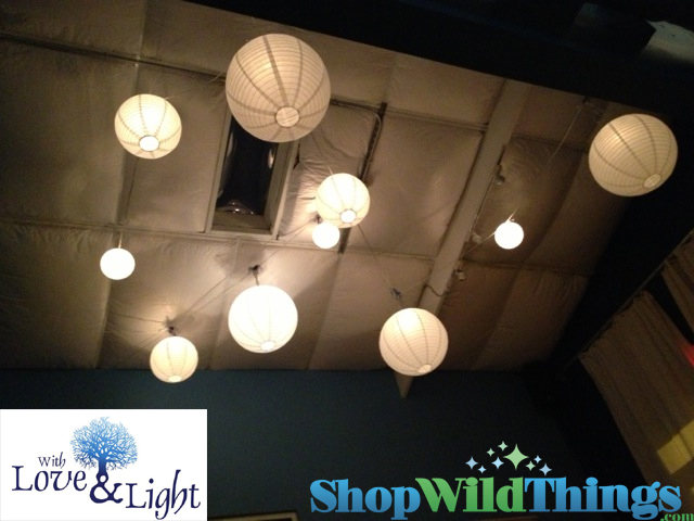 Paper Lanterns - Permanent Installation in Homes & Commercial Spaces