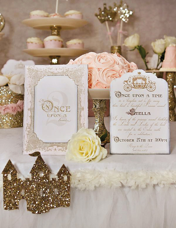 Pink & Gold Party Ideas Bling on a Budget