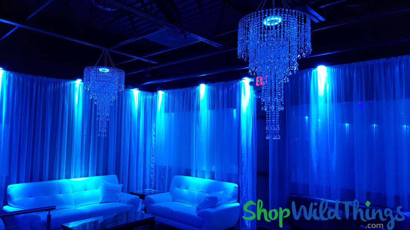 ShopWildThings Chandeliers & LED Light Discs