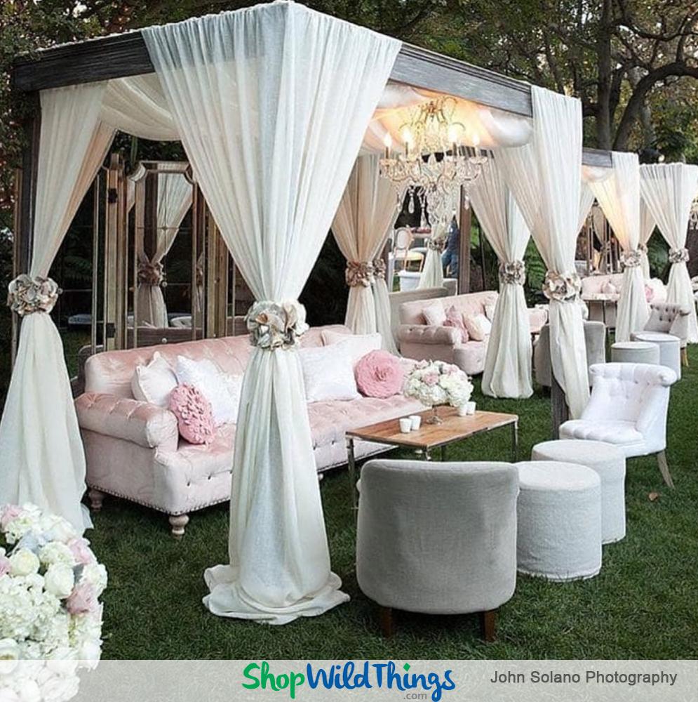 Showcasing Sparkling Spring and Summer Wedding Decor