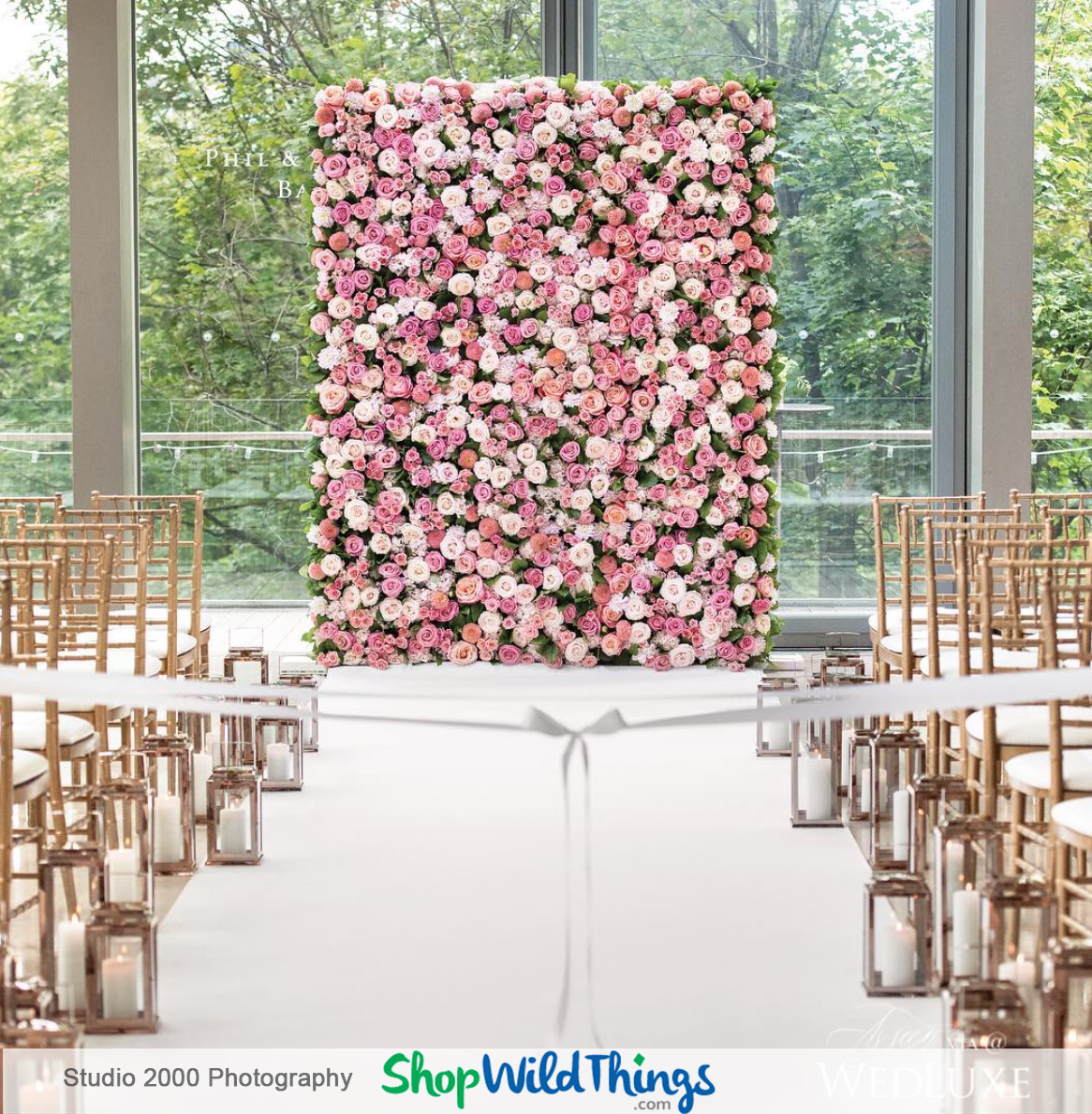Spectacular Silks:  Using Faux Florals Effectively in Ceremonies and Receptions