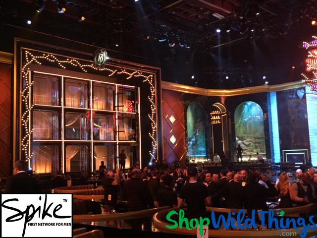 Spike TV Guy's Choice Awards - Custom Lynx Chain on Fabric Top