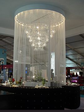 String Curtains for Large Venues