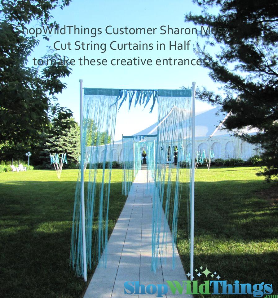 String Curtains - Make A Dramatic Entrance!