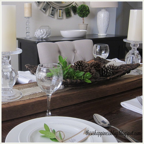 Tables Au Naturel|Simple Chic with Jute Table Linens