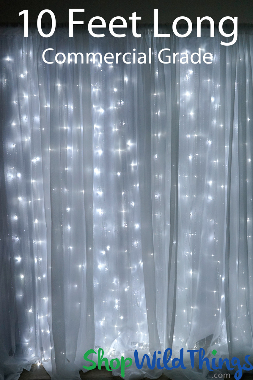 Wedding Light Curtains Backdrop Shopwildthings