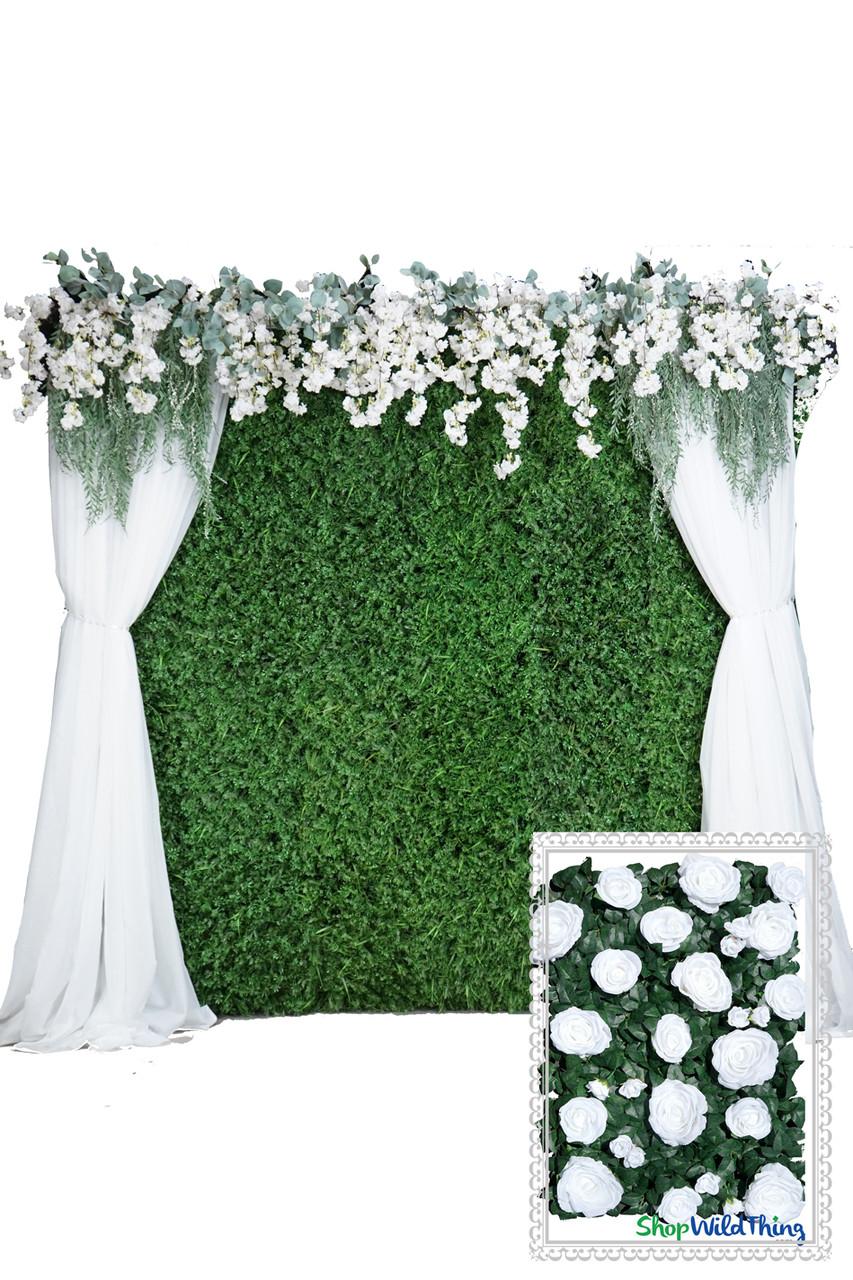 Portable Flower Wall Kit Super Full Silk Walls Shopwildthings Com