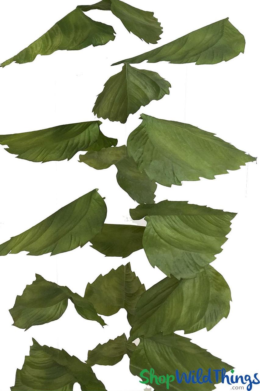 Oversized Sunflower Leaf Garlands Set Of 3 Each 6 5 Long Shopwildthings Com
