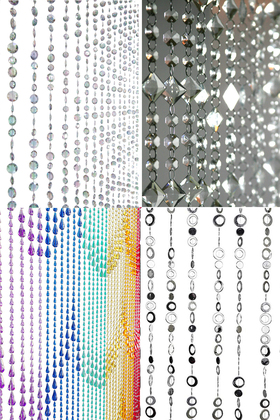Acrylic Beaded Curtains