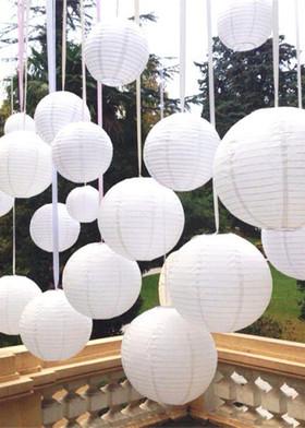 Paper Hanging Lanterns