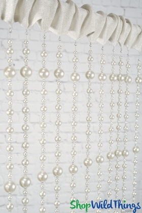 Pearl Beaded Curtains