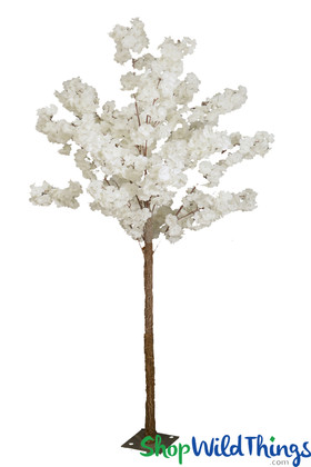 White Fluffy Artificial Flowers Dogwood Tree Wedding Centerpiece ShopWildthings