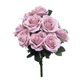 Artificial Wedding Flower Bouquet | Rose Bush Spray | Silk Floral Centerpieces | ShopWildThings.com