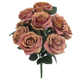 Artificial Flowers for Fall Wedding Bouquets | Faux Rose Bush Spray | ShopWildThings.com