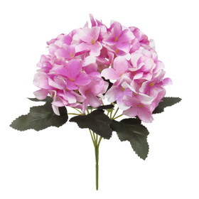 Purple Wedding Bouquets | Artificial Hydrangea Flower Spray | ShopWildThings.com