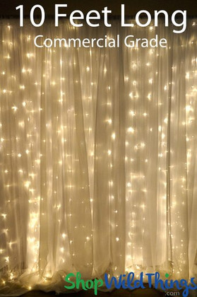 Light Curtain for Events | Warm White LED Lights | ShopWildThings.com