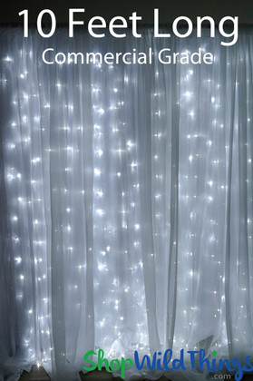 LED Light Curtains for Backdrops and Home Decoration | ShopWildThings.com