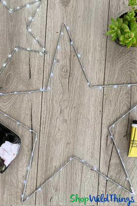 Battery Operated Fairy Light Stars | ShopWildThings.com