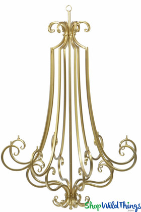 Removable Arms Chandelier | Hanging  Frame to Decorate | ShopWildThings.com