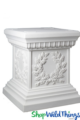 Grecian Pedestal Stand for Florals, Urns and Planters ShopWildThings.com