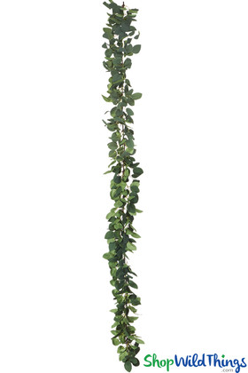 Full and flexible green garlands, luscious artificial vines for backdrop arches, floral risers and arbors | ShopWildThings.com