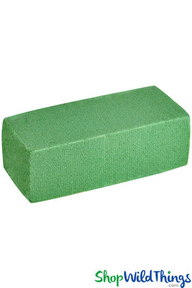 Foam Block For Securing Flowers, Wet or Dry Floral Bricks, Wet Foam To Hold Cut Flowers | ShopWildThings.com