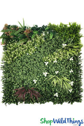 ShopWildThings Greenery Walls with Flowers, Plants, Foliage Professional Use