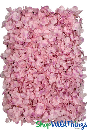 Pink with Lavender Flower Wall Panels For Wedding & Event Backdrops by ShopWIldThings.com