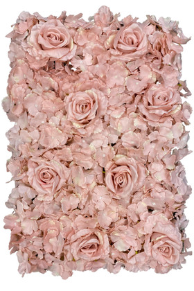Dusty Pink Flower Wall Limited Quantity ShopWildthings.com