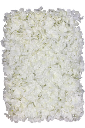 Ivory Flower Wall Panels For Wedding & Event Backdrops by ShopWIldThings.com