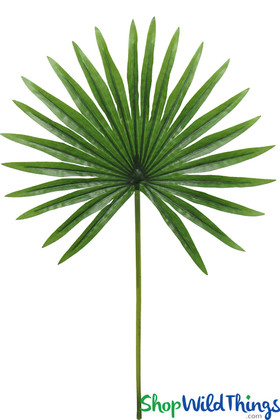 """Real Feel Artificial Palm Leaf Spray 20"""" Long for Floral Design and Events ShopWildThings.com"""