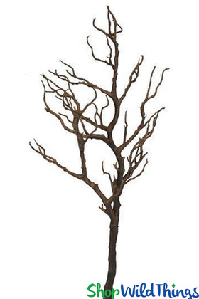 """Natural Manzanita Branch Brown for Event and Floral Designs 40"""" Long ShopWildThigns.com"""
