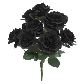 Black Roses Bouquet Queen Rose Bush Black Flowers ShopWildThings.com