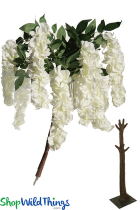 Wisteria Branches Interchangeable Floral Sprays for Trees ShopWildThings