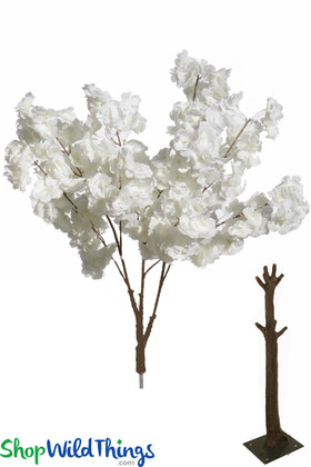 Interchangeable Replacement Branches for Flowering Trees Artificial White Dogwood Flowers ShopWildThings.com