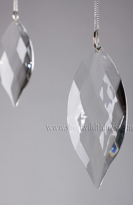 """Acrylic Pendant 4""""  Long -  """"Duchess"""" Set of 6 for Wedding Trees and Chandeliers"""