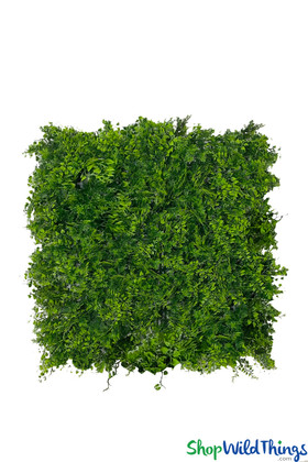 Ferns Assorted Foliage Greenery Walls High End Fire Rated UV indoor outdoor ShopWildThings.com