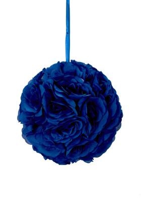 Blue Roses Kissing Balls ShopWildThings.com