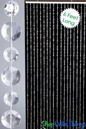 Extra Large Diamonds Beaded Curtain Door Beads ShopWildThings.com